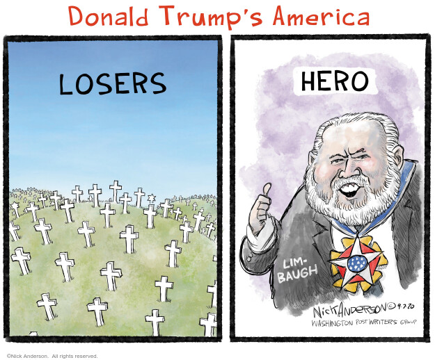 Nick Anderson  Nick Anderson's Editorial Cartoons 2020-09-07 politics