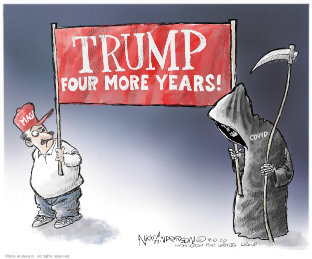 Nick Anderson  Nick Anderson's Editorial Cartoons 2020-09-10 Corona