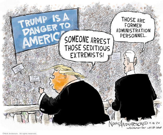 Nick Anderson  Nick Anderson's Editorial Cartoons 2020-09-18 politics