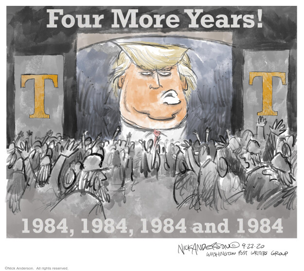 Nick Anderson  Nick Anderson's Editorial Cartoons 2020-09-22 2020 election