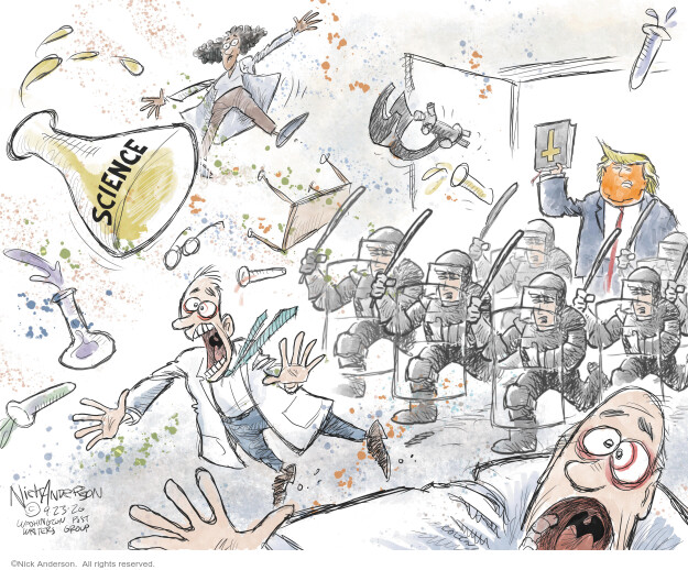 Nick Anderson  Nick Anderson's Editorial Cartoons 2020-09-23 Corona