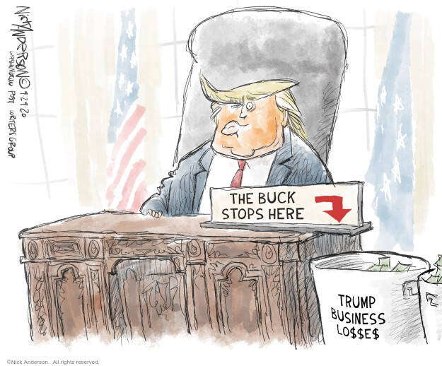 Nick Anderson  Nick Anderson's Editorial Cartoons 2020-09-29 politics