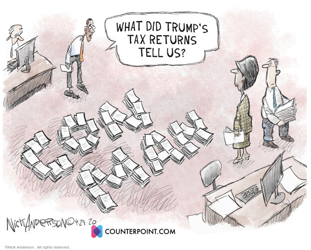 Nick Anderson  Nick Anderson's Editorial Cartoons 2020-10-03 editorial