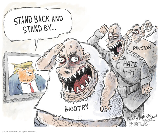 Nick Anderson  Nick Anderson's Editorial Cartoons 2020-10-04 2020 election