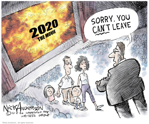 Nick Anderson  Nick Anderson's Editorial Cartoons 2020-10-05 2020 election