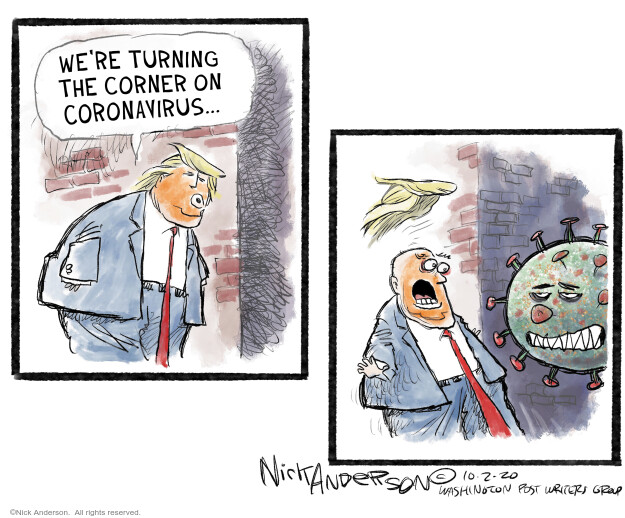 Nick Anderson  Nick Anderson's Editorial Cartoons 2020-10-06 editorial