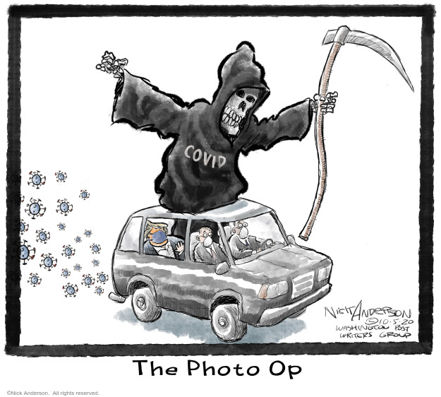Nick Anderson  Nick Anderson's Editorial Cartoons 2020-10-08 health
