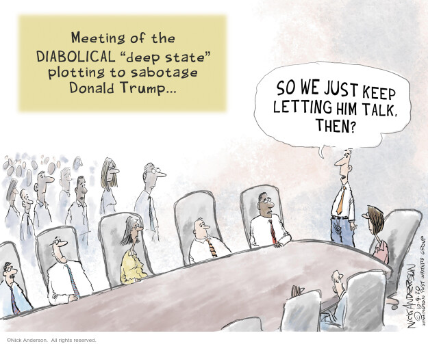 Nick Anderson  Nick Anderson's Editorial Cartoons 2020-10-14 politics