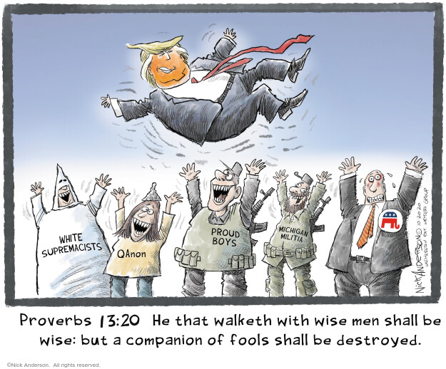 Nick Anderson  Nick Anderson's Editorial Cartoons 2020-10-20 politics