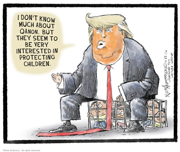Nick Anderson  Nick Anderson's Editorial Cartoons 2020-10-23 policy