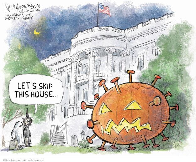 Nick Anderson  Nick Anderson's Editorial Cartoons 2020-10-26 health