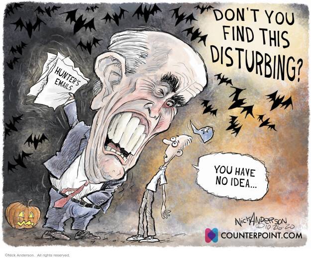 Nick Anderson  Nick Anderson's Editorial Cartoons 2020-10-28 Rudy Giuliani