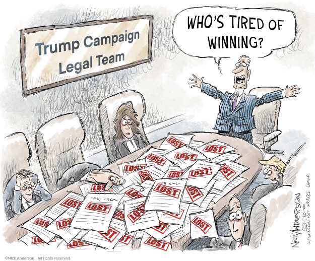 Nick Anderson  Nick Anderson's Editorial Cartoons 2020-11-30 president