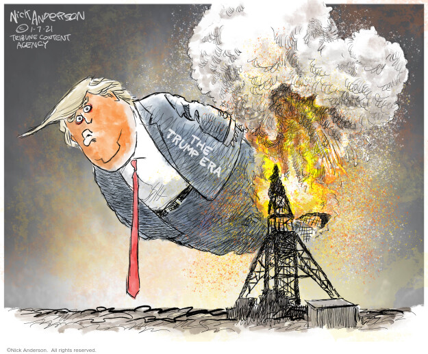 Nick Anderson  Nick Anderson's Editorial Cartoons 2021-01-07 president
