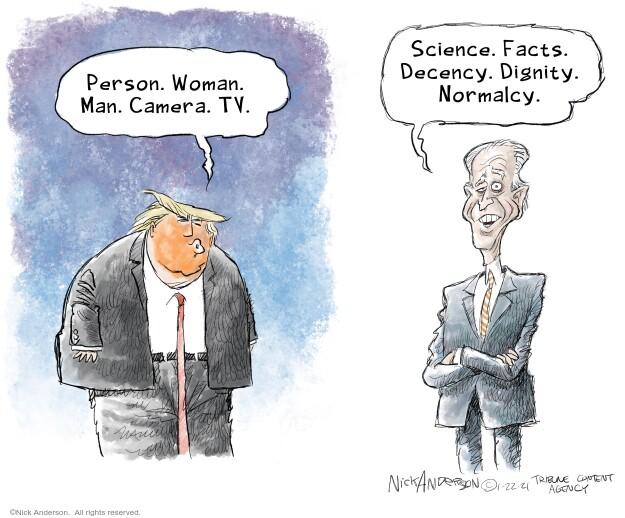 Nick Anderson  Nick Anderson's Editorial Cartoons 2021-01-22 presidential