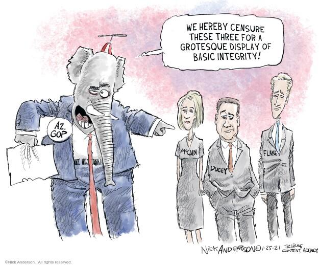 Nick Anderson  Nick Anderson's Editorial Cartoons 2021-01-25 editorial
