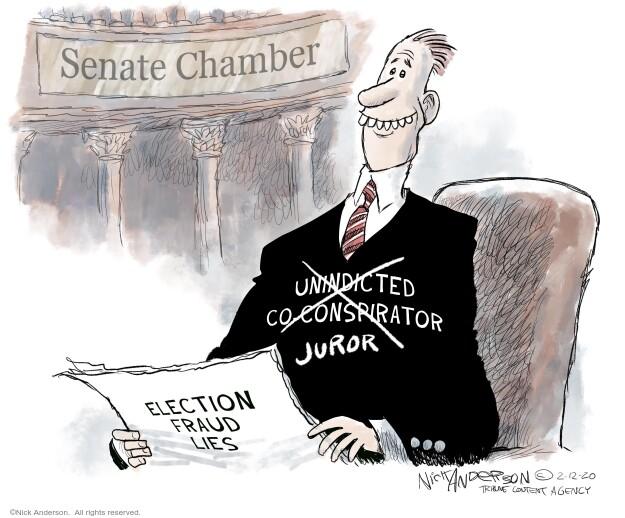 Nick Anderson  Nick Anderson's Editorial Cartoons 2021-02-12 editorial