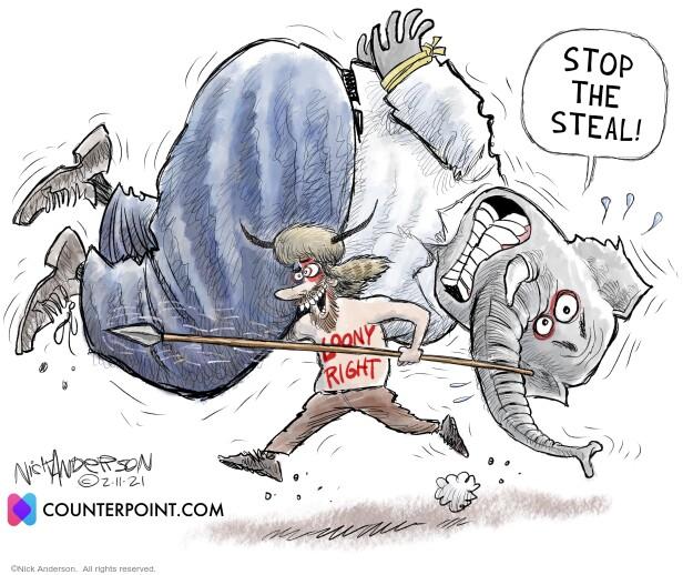 Nick Anderson  Nick Anderson's Editorial Cartoons 2021-02-11 attack