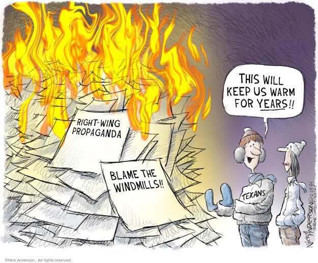 Nick Anderson  Nick Anderson's Editorial Cartoons 2021-02-22 energy