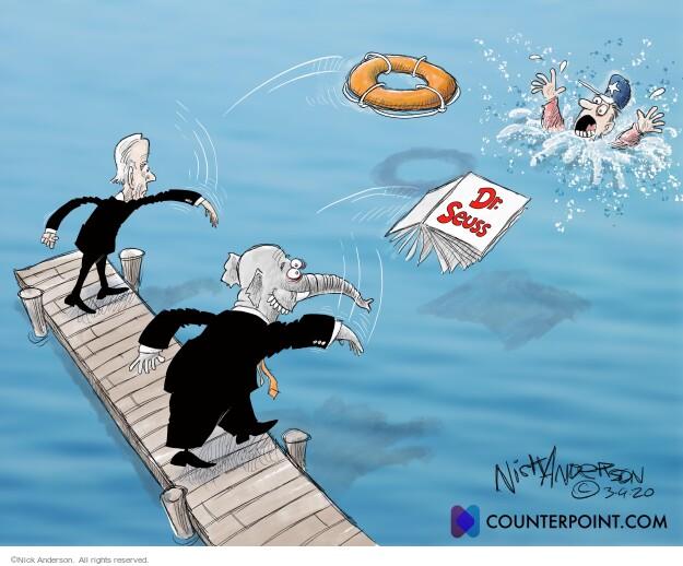 Nick Anderson  Nick Anderson's Editorial Cartoons 2021-03-09 presidential