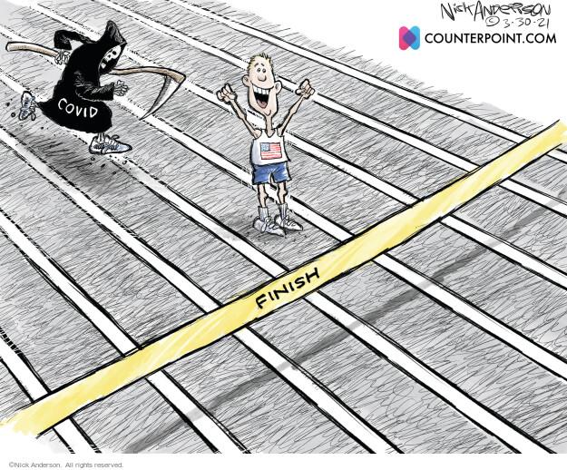 Nick Anderson  Nick Anderson's Editorial Cartoons 2021-03-30 coronavirus