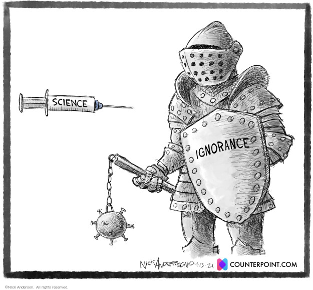 Nick Anderson  Nick Anderson's Editorial Cartoons 2021-04-13 pandemic