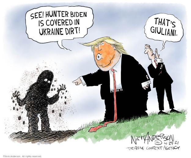 Nick Anderson  Nick Anderson's Editorial Cartoons 2021-04-29 Donald