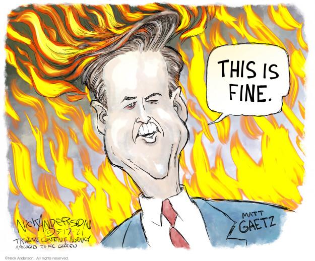 Nick Anderson  Nick Anderson's Editorial Cartoons 2021-05-17 congressional
