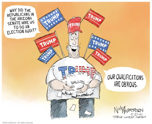 Nick Anderson  Nick Anderson's Editorial Cartoons 2021-05-27 2020 election Donald Trump