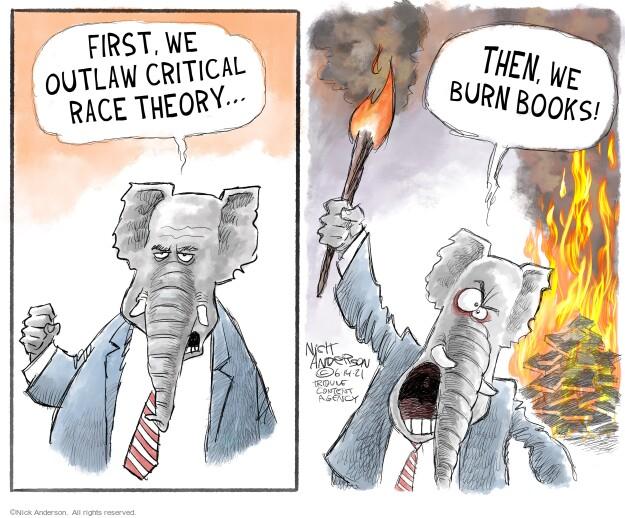 Nick Anderson  Nick Anderson's Editorial Cartoons 2021-06-14 racial discrimination