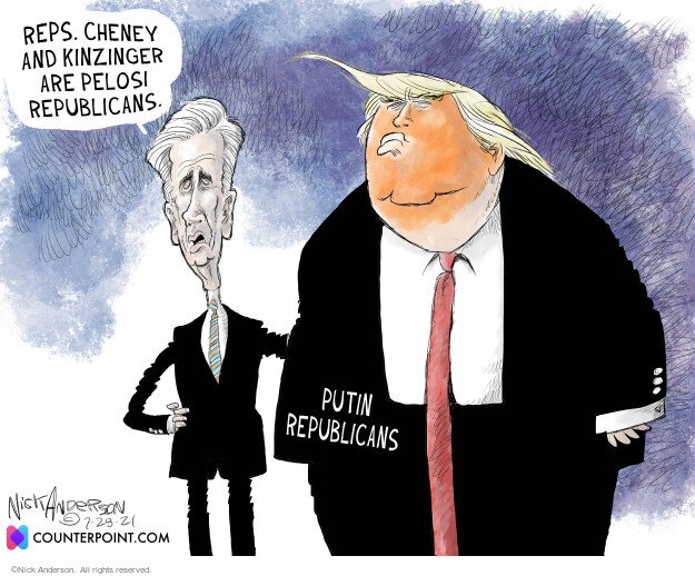 Nick Anderson  Nick Anderson's Editorial Cartoons 2021-07-28 Donald