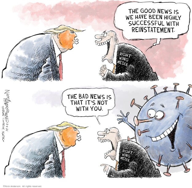 Nick Anderson  Nick Anderson's Editorial Cartoons 2021-08-11 pandemic