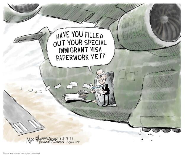 Nick Anderson  Nick Anderson's Editorial Cartoons 2021-08-19 violence