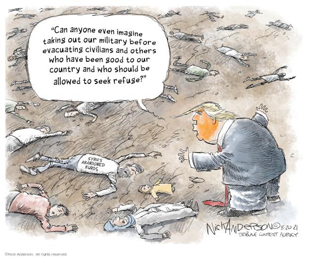 Nick Anderson  Nick Anderson's Editorial Cartoons 2021-08-20 violence