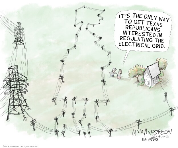 Nick Anderson  Nick Anderson's Editorial Cartoons 2021-09-30 energy