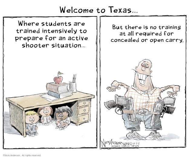 Nick Anderson  Nick Anderson's Editorial Cartoons 2021-10-07 violence
