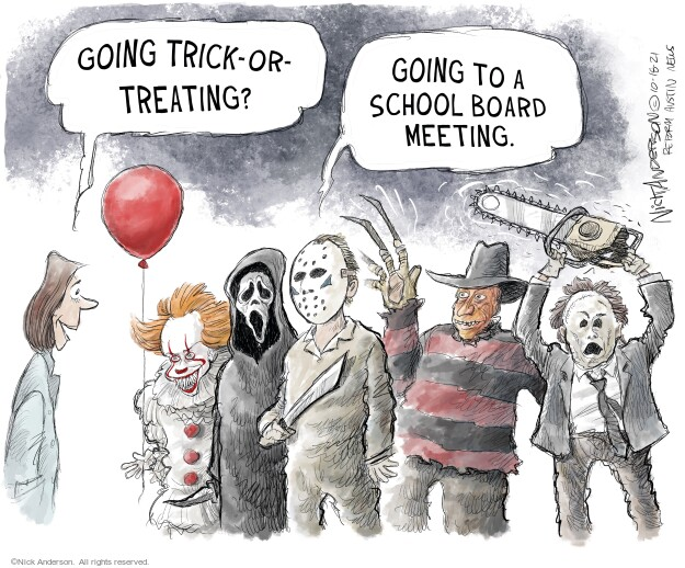 Nick Anderson  Nick Anderson's Editorial Cartoons 2021-10-18 editorial