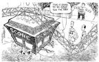 Cartoonist Nick Anderson  Nick Anderson's Editorial Cartoons 2003-08-07 crush