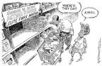 Nick Anderson  Nick Anderson's Editorial Cartoons 2003-08-14 aircraft carrier