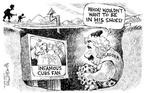 Cartoonist Nick Anderson  Nick Anderson's Editorial Cartoons 2003-10-17 ball game