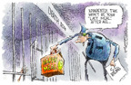 Nick Anderson  Nick Anderson's Editorial Cartoons 2005-03-03 capital punishment
