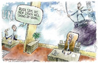 Cartoonist Nick Anderson  Nick Anderson's Editorial Cartoons 2005-03-09 ball