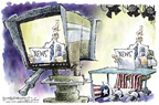 Nick Anderson  Nick Anderson's Editorial Cartoons 2005-03-16 television news