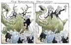 Cartoonist Nick Anderson  Nick Anderson's Editorial Cartoons 2005-04-01 big government
