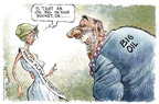 Cartoonist Nick Anderson  Nick Anderson's Editorial Cartoons 2005-04-12 wildlife