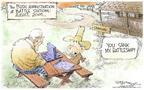 Cartoonist Nick Anderson  Nick Anderson's Editorial Cartoons 2004-04-13 sink