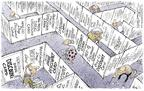Cartoonist Nick Anderson  Nick Anderson's Editorial Cartoons 2004-05-13 health insurance