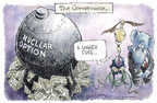 Cartoonist Nick Anderson  Nick Anderson's Editorial Cartoons 2005-05-26 filibuster
