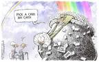 Cartoonist Nick Anderson  Nick Anderson's Editorial Cartoons 2004-06-02 health insurance