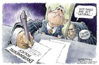 Nick Anderson  Nick Anderson's Editorial Cartoons 2005-06-17 conflict of interest